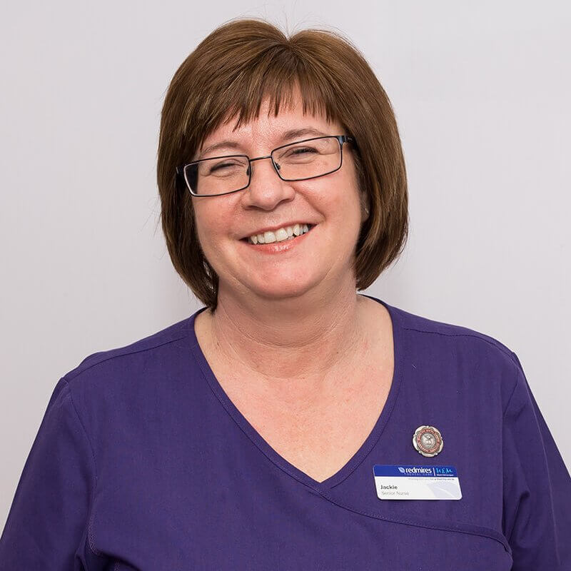 Jacqueline Scott, Senior Dental Nurse